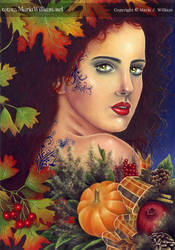 Night Bloom: Fall - by sijeney by painters
