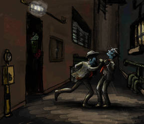 Ghost Trick - Back Alley Brawl