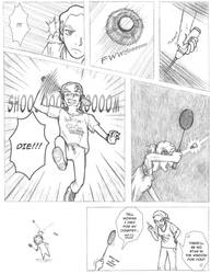Badminton Attack by mistress-samwise