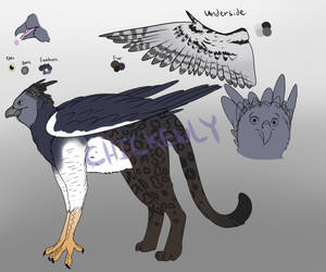 Harpy Eagle/Panther Griffin - OTA - Open by Chickenly