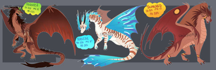 Dragon Adopts - 3/3 AUCTION - CLOSED