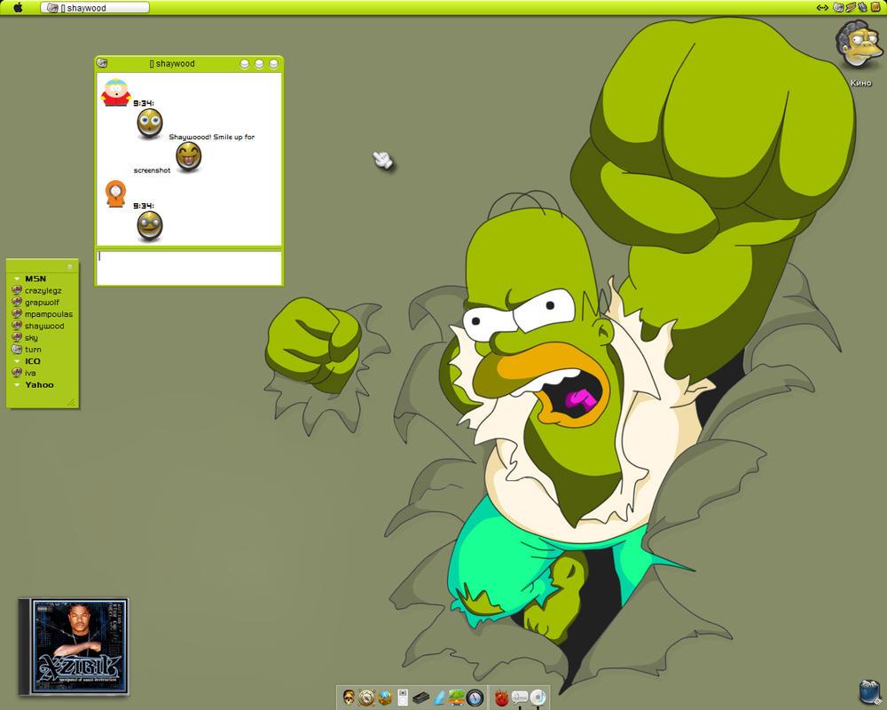 Homer J. Simpson by pza