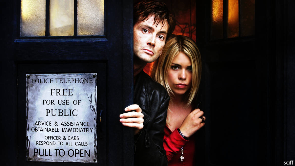 Doctor Who wallpaper by saffiremoon21