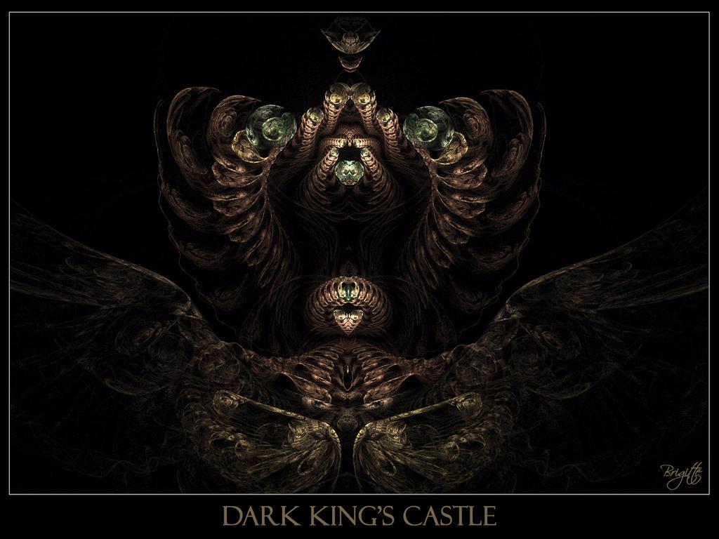 Dark King's Castle by Brigitte-Fredensborg on DeviantArt