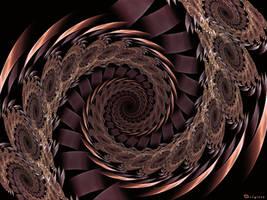 Chocolate Spiral by Brigitte-Fredensborg