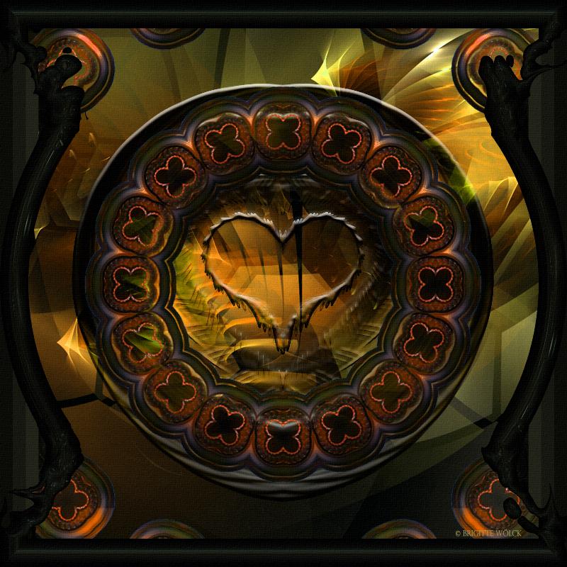 K - Heart by Brigitte-Fredensborg