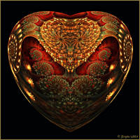Unrest Heart by Brigitte-Fredensborg
