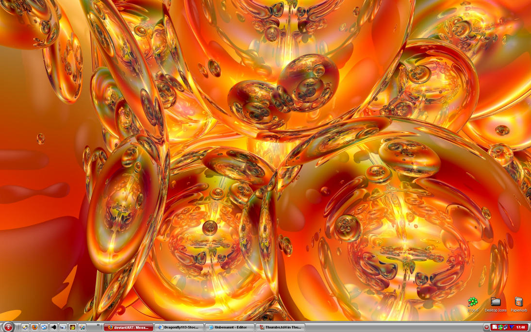Desktop Screenshot March 2010 by Brigitte-Fredensborg