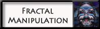 Fractal Manipulation Badge by Brigitte-Fredensborg