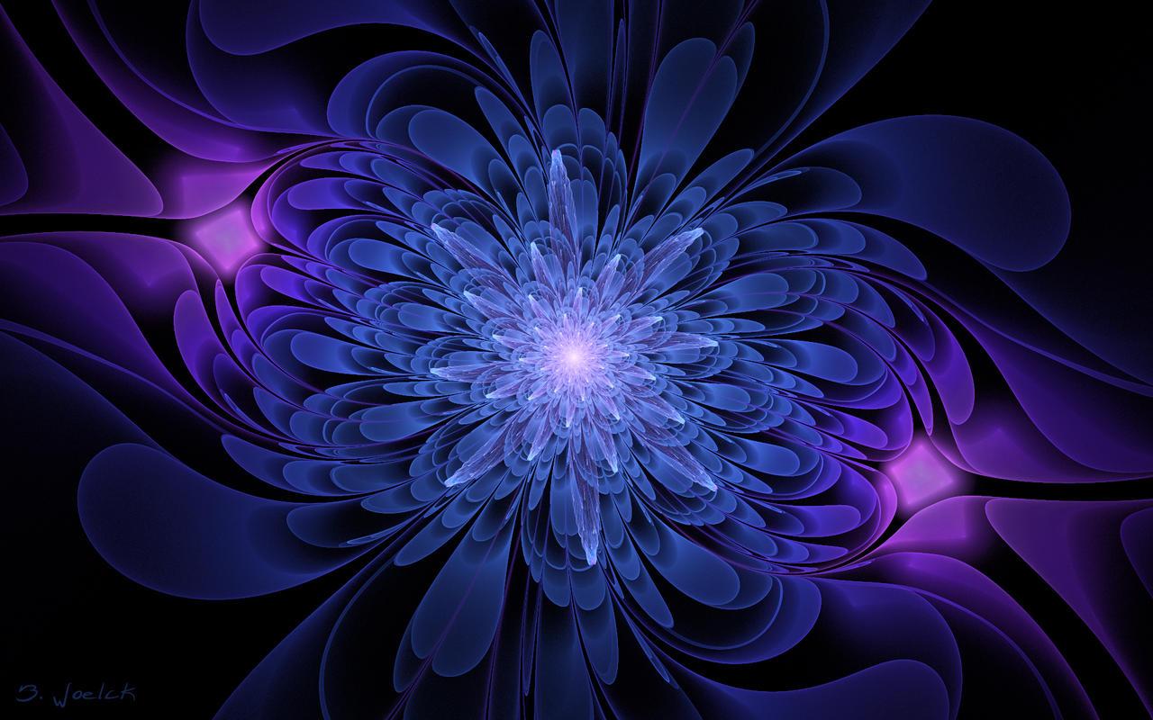 WP Glass Flower by Brigitte-Fredensborg