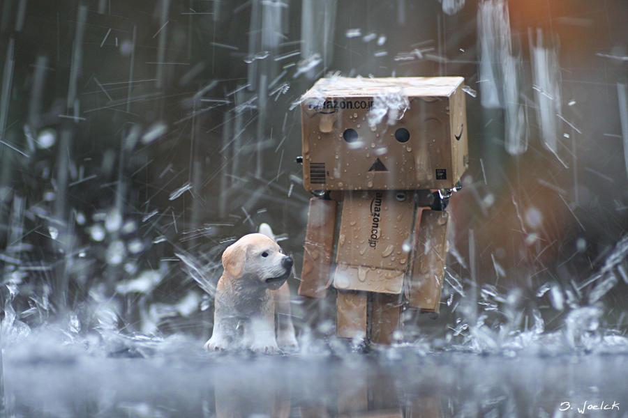 We are walking in the rain... by Brigitte-Fredensborg
