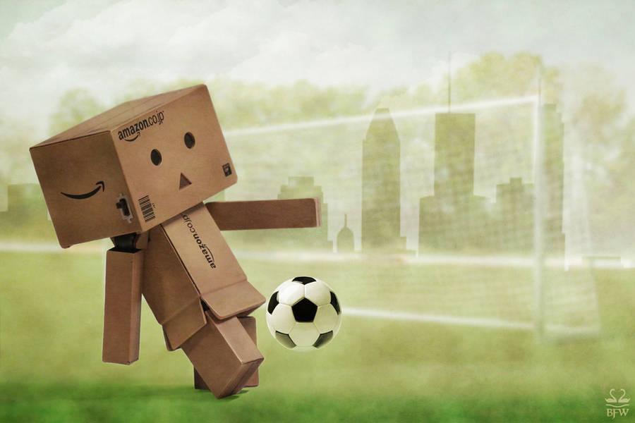 Ashley likes soccer by Brigitte-Fredensborg