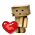 Danbo and the heart