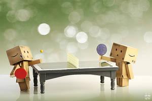 Ping - Pong by Brigitte-Fredensborg
