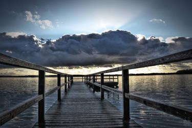Lake of Silence by Brigitte-Fredensborg
