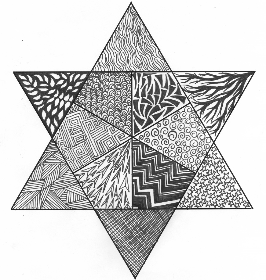 Zen Line Drawing : Zen triangle by alexiaempath on deviantart