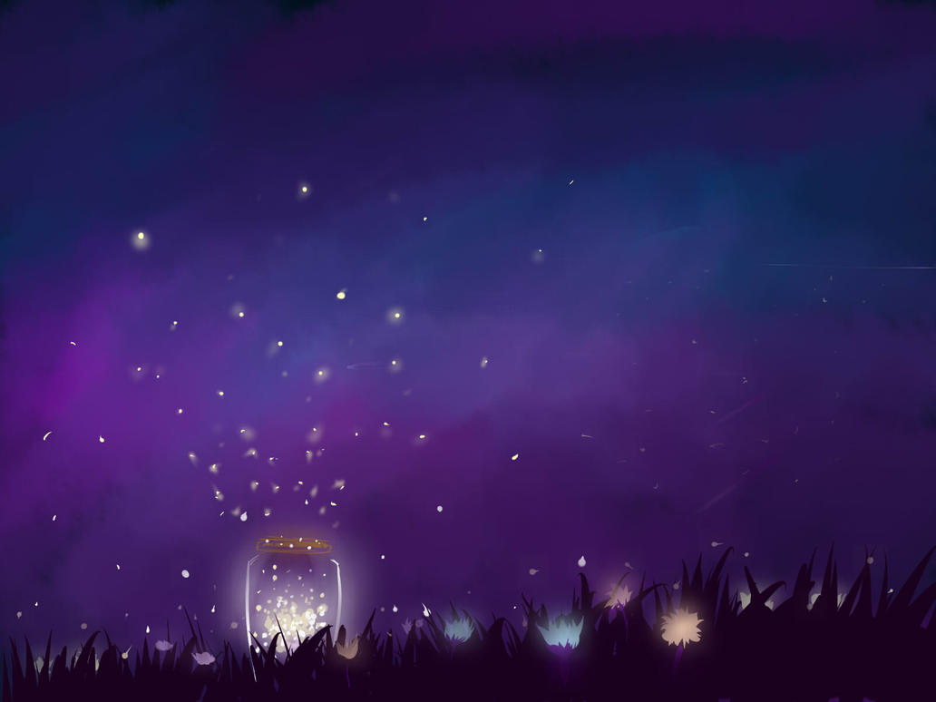 Jar of Fireflies by mengtacular123 on DeviantArt