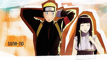 Naruto and Hinata by Suna-no