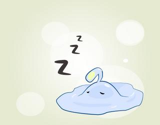 Sleepy Slime by Rkdailey