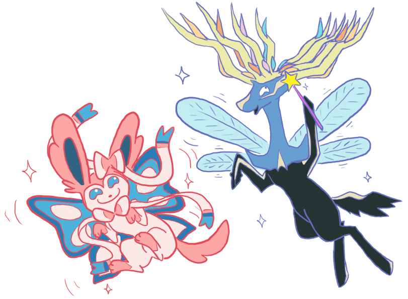 On The Topic Of Xerneas Being Pure Fairy Type Pokemon