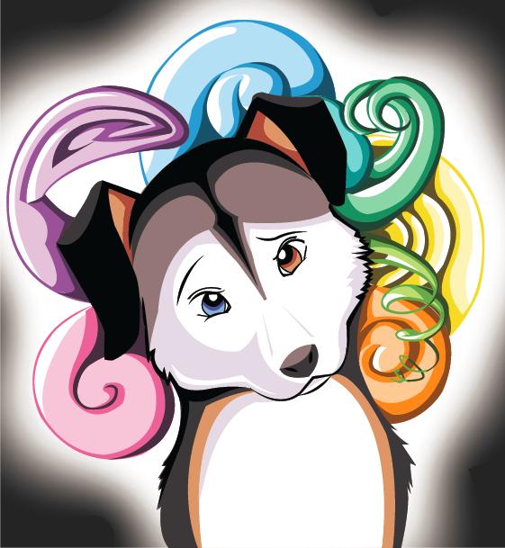 Confused Doggie Vector