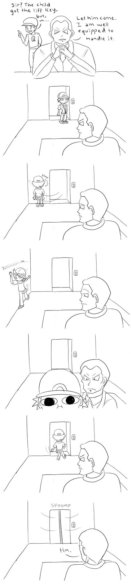Twitch Plays Pokemon - Giovanni Encounter by KatRaccoon