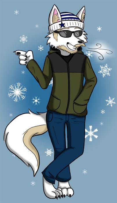 Cool Siberian Wolf by KatRaccoon