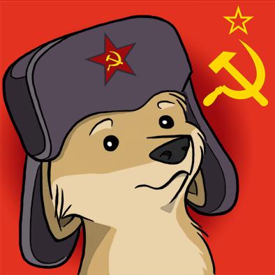 Comrade Doge by KatRaccoon