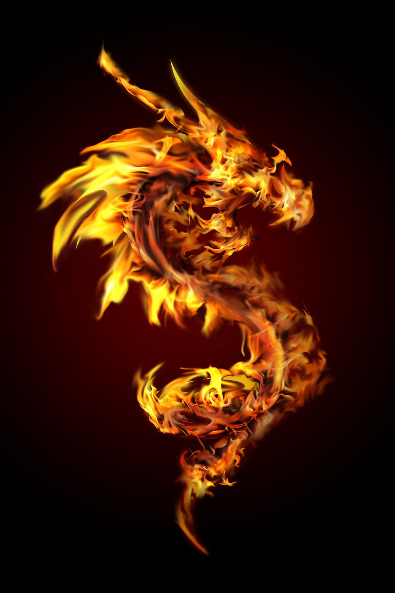 Spiritsfyre's ProfileFire Flames Dragon