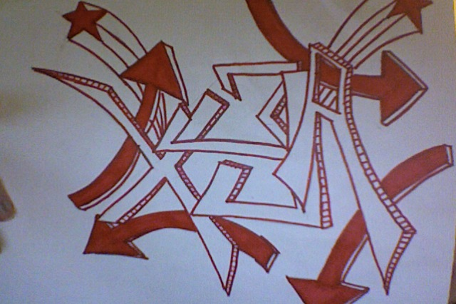 Alex's name in Graffiti by JuliaOdom on DeviantArt