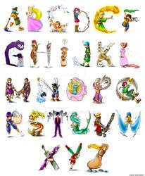 Original Character Font