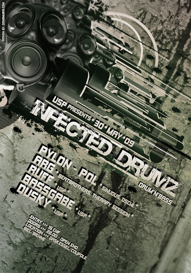 ::: Infected DrumZ ::: by donanubis