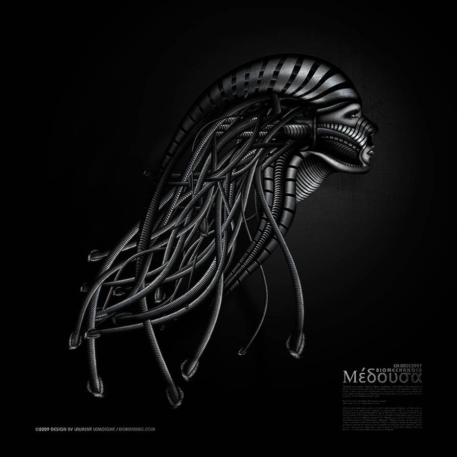 ::: BioMechanoid Medusa :::