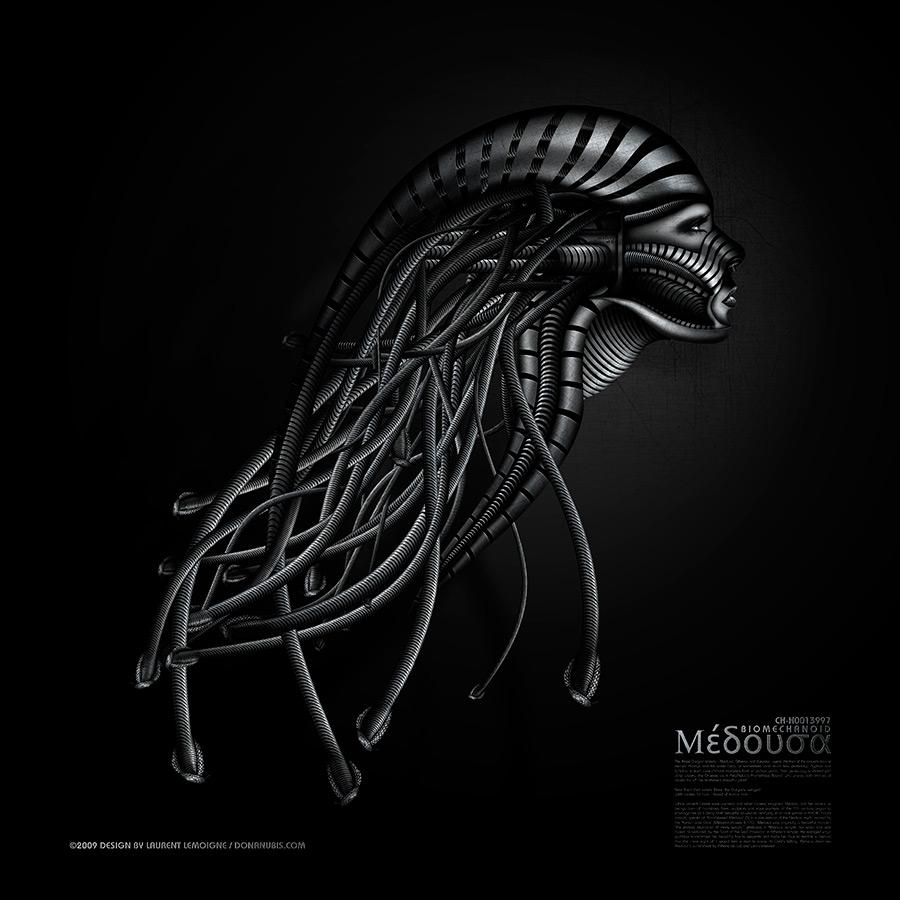 ::: BioMechanoid Medusa :::