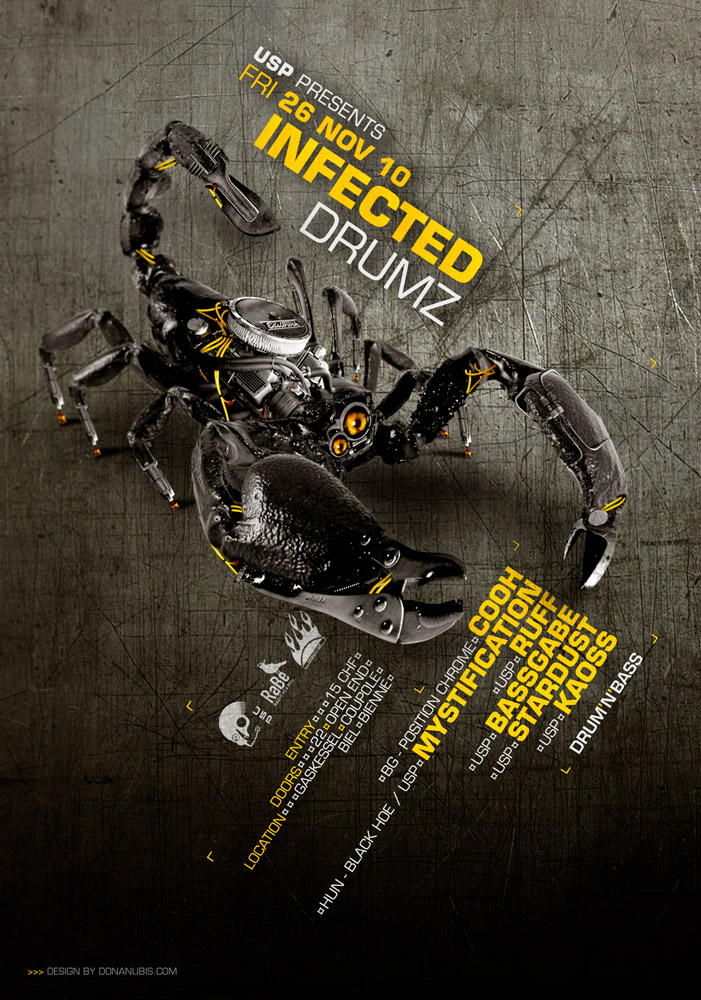 ::: Infected DrumZ IV ::: by donanubis
