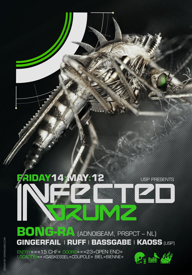 ::: Infected Drumz VII ::: by donanubis
