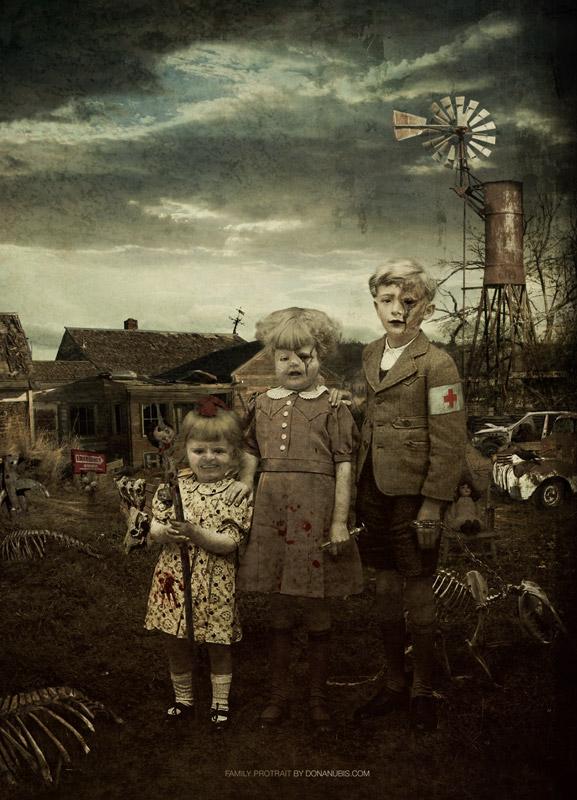 ::: Family Portrait ::: by donanubis