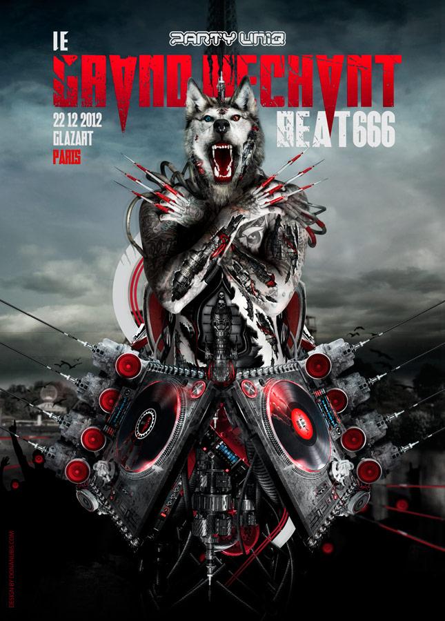 LeGrandMechantBeat 666 #7 by donanubis