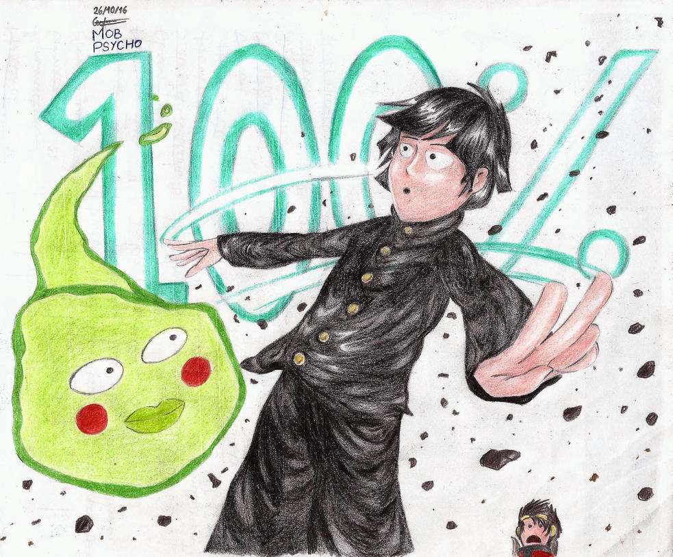 Mob Psycho 100 fan art by geceron