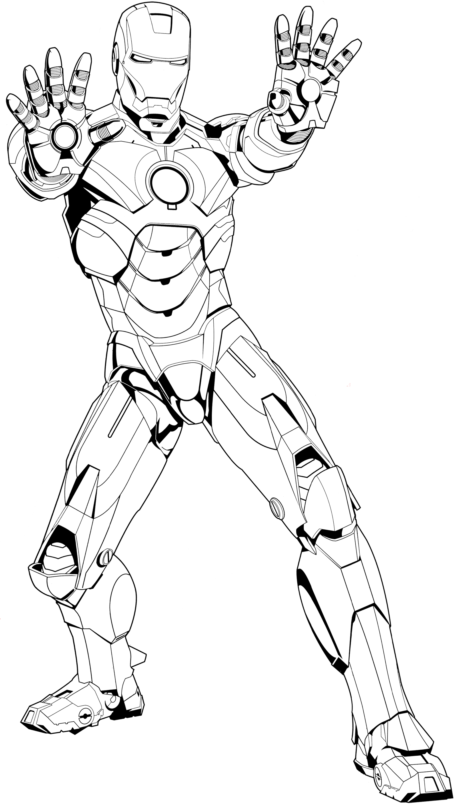 ironman mark 4 coloring pad by syrus54 on deviantart