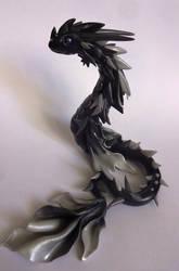 Dragon noir et blanc by krisclay74