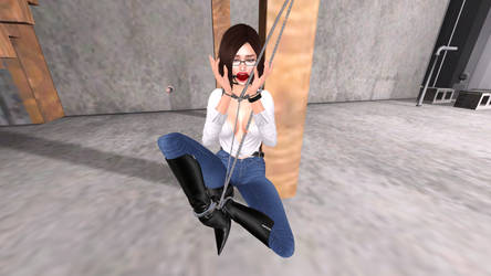 Cuffed And Chained In Basement by ValeriaY