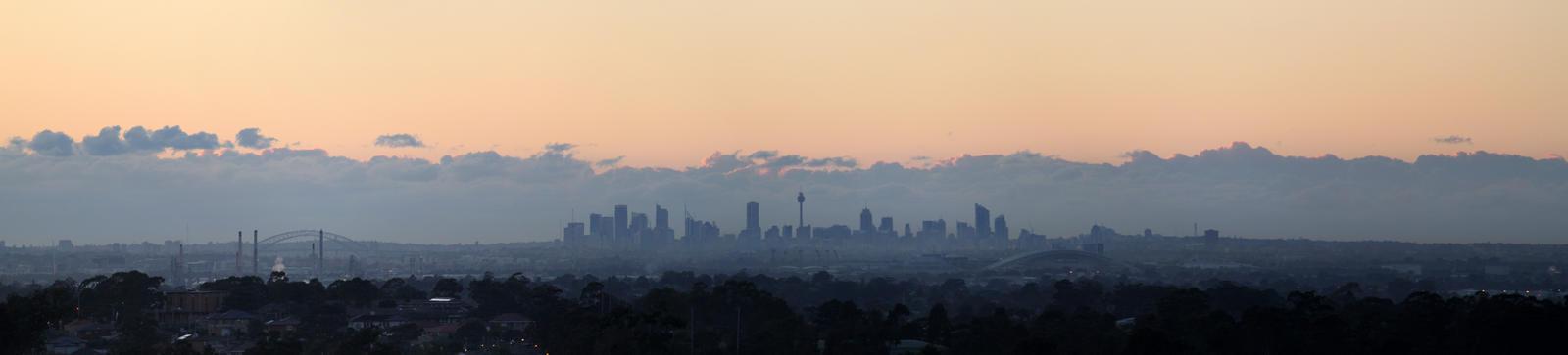 Sydney Horizon by TarJakArt