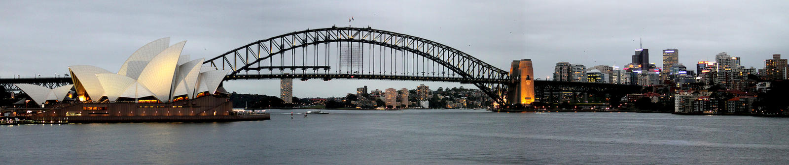 Sydney Harbour Panorama by TarJakArt