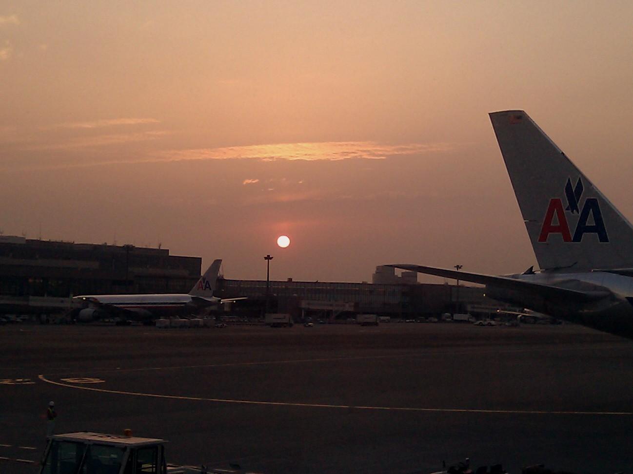 Narita Sunset by TarJakArt