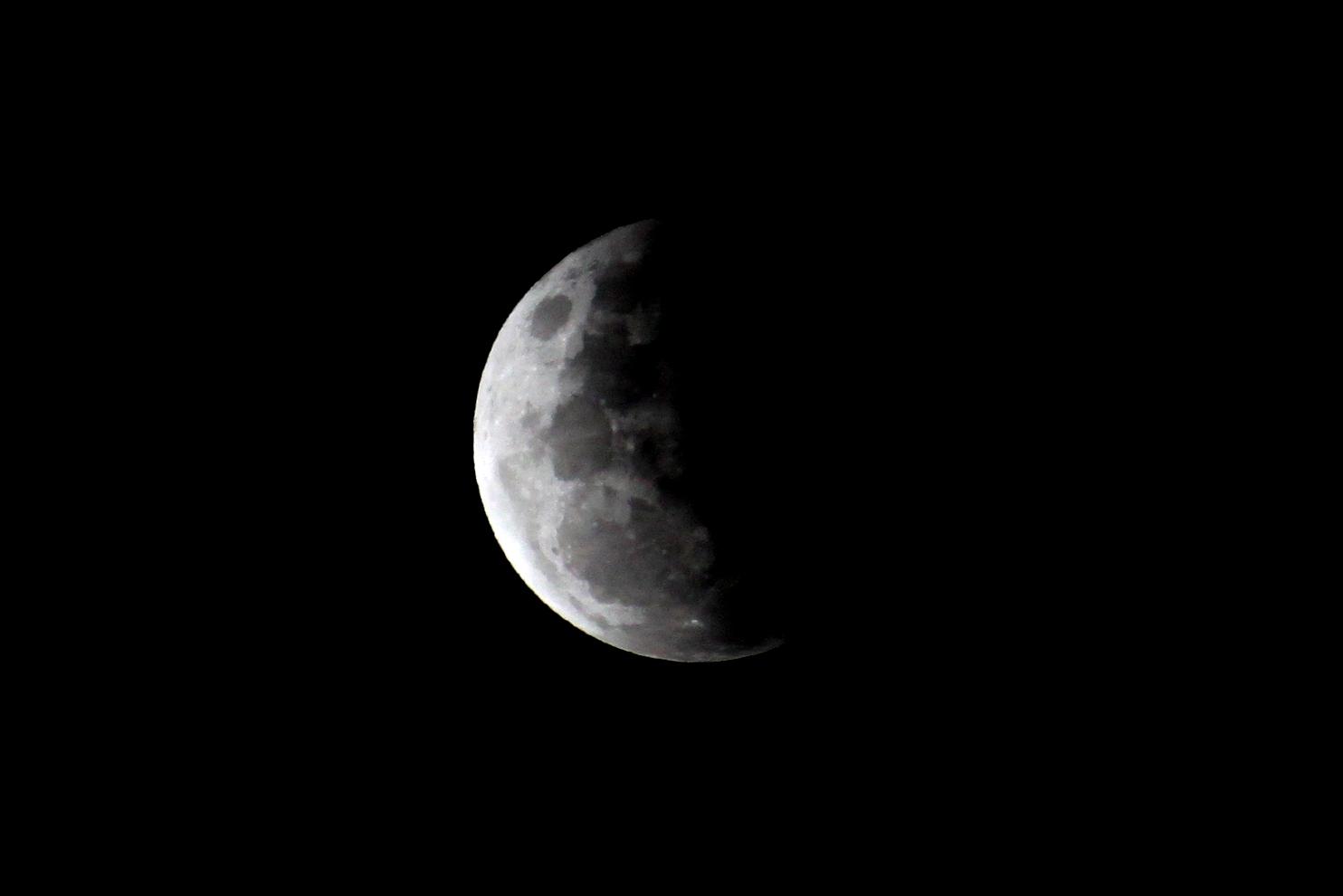 Partial Lunar Eclipse 5 by TarJakArt