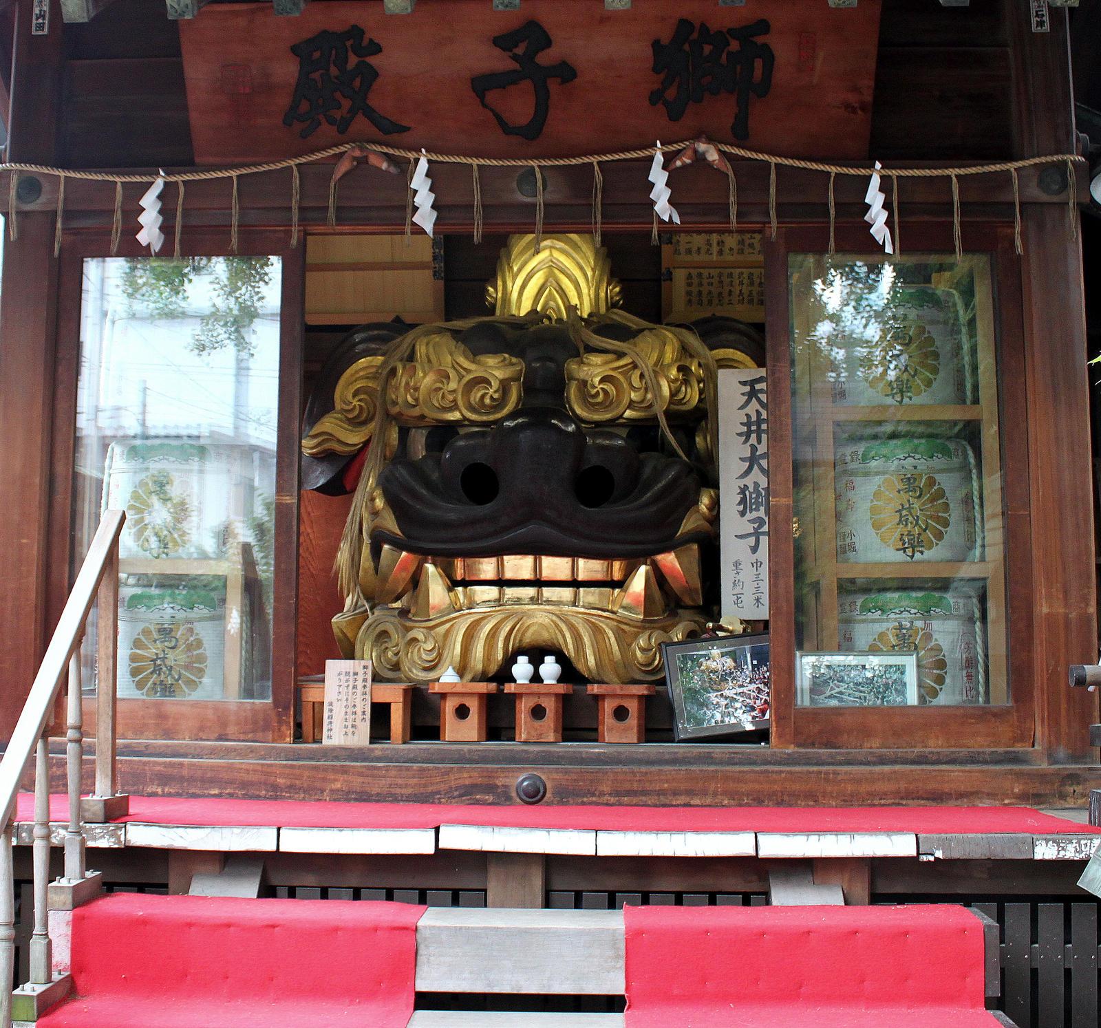 Namiyoke Shrine by TarJakArt