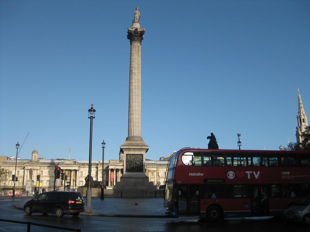 Nelson's Column by TarJakArt