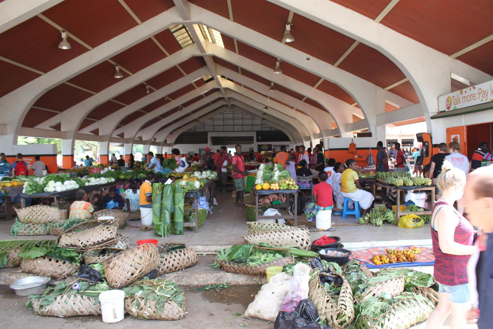 Port Vila Vegetable and Flower Market by TarJakArt