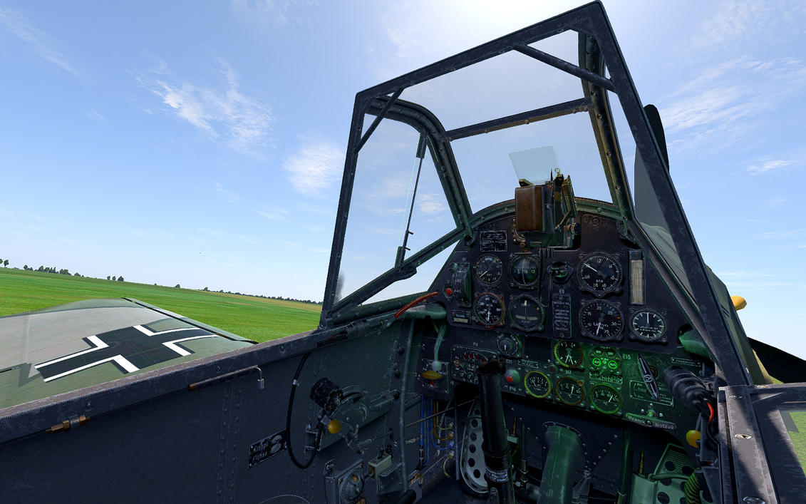 109E4/N Cockpit by TarJakArt